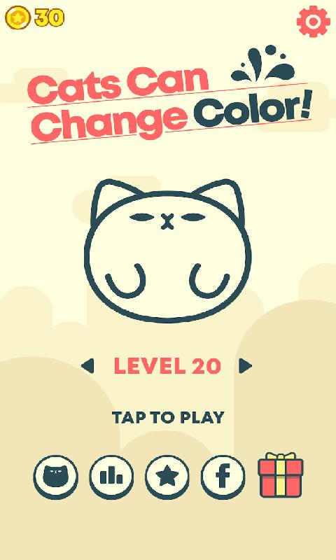 变色猫跳跃
