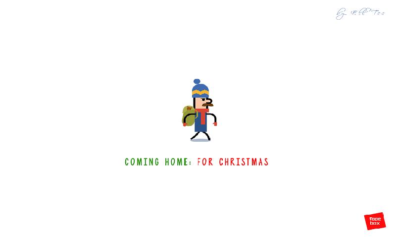 回家过圣诞节