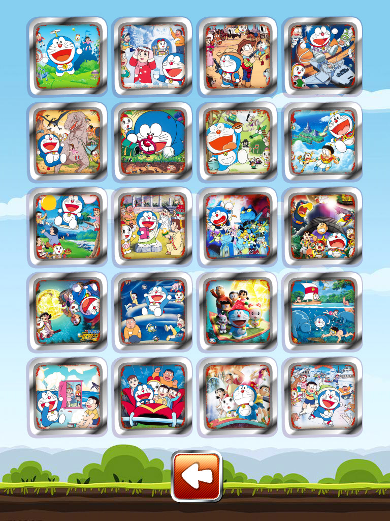 哆啦A梦儿童拼图截图