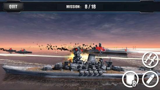 战舰的召唤:战争使命 无限金币版