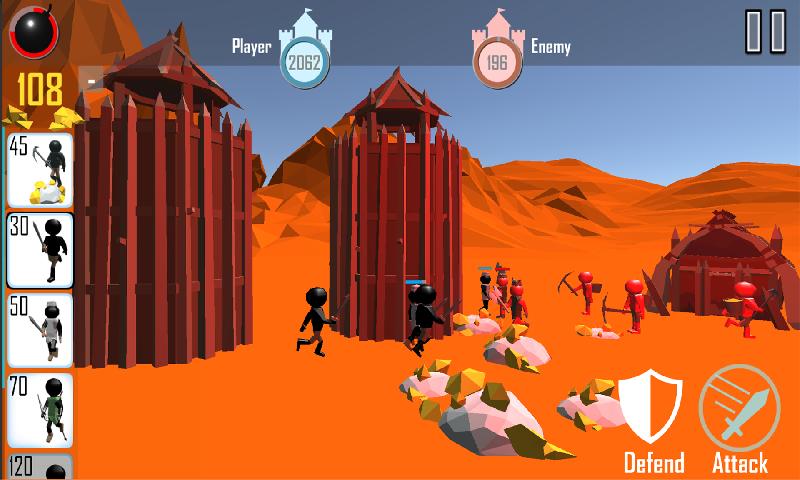 火柴人战争3D截图