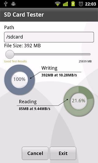 SD Card Tester截图