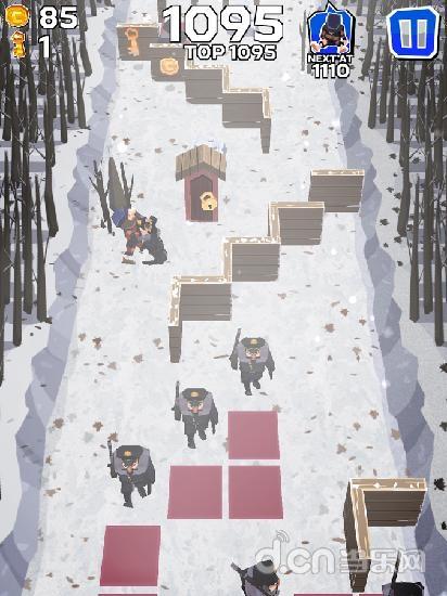 冬日逃亡者