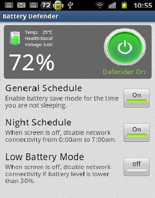 Battery Defender截图