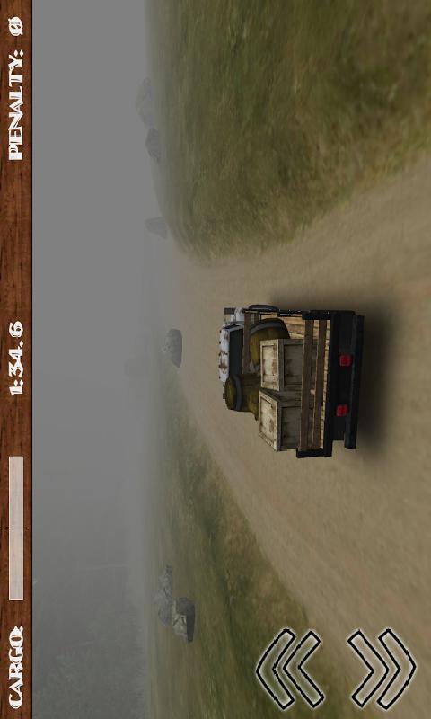 3D泥路货车截图
