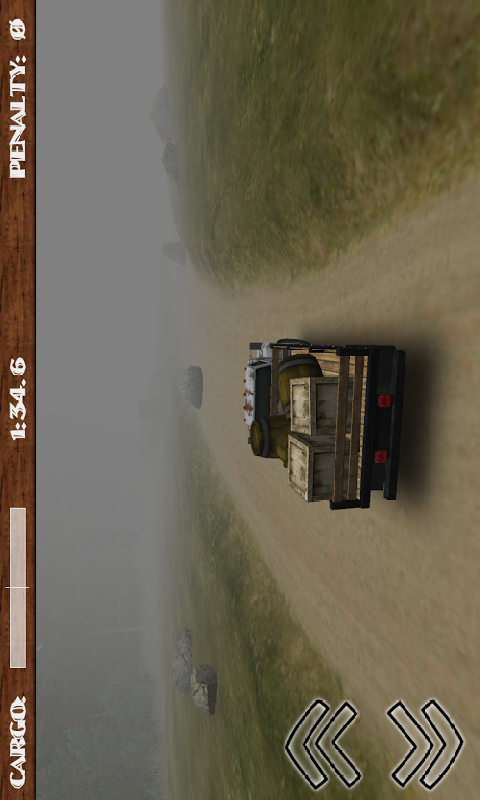 3D泥路货车