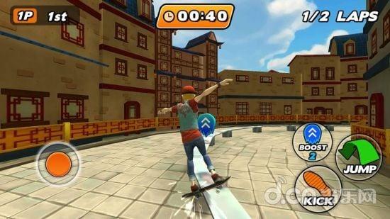 城市滑板者截图