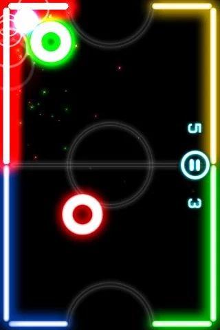 发光曲棍球截图