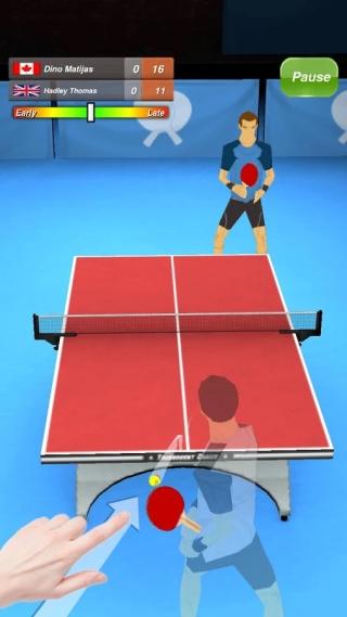 乒乓球 修改版截图