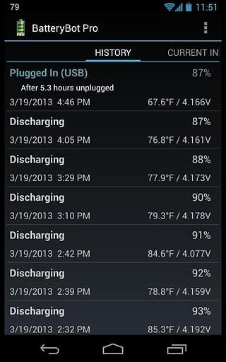 电池指示器截图