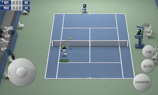 火柴人网球2015截图