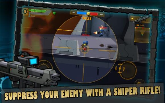 迷你英雄:无限 无限金币版截图