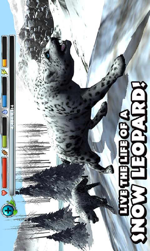 雪豹模拟截图