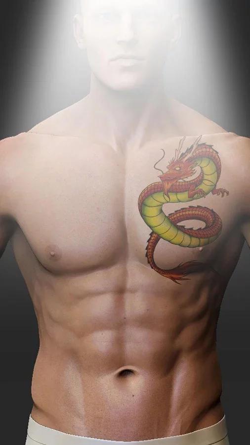 纹身照片蒙太奇