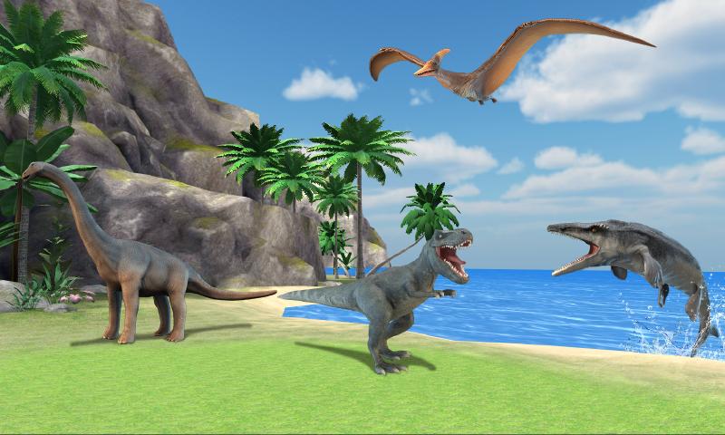 看!是恐龙AR截图