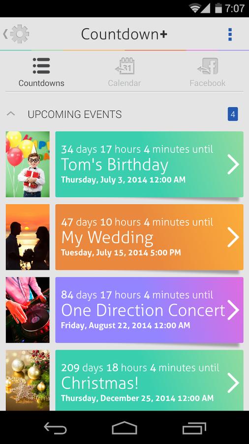 Countdown Plus Widgets截图