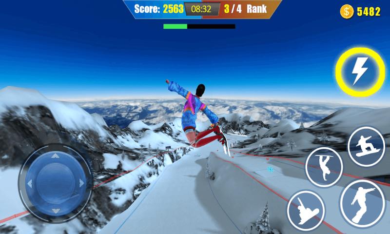 自由式滑雪截图