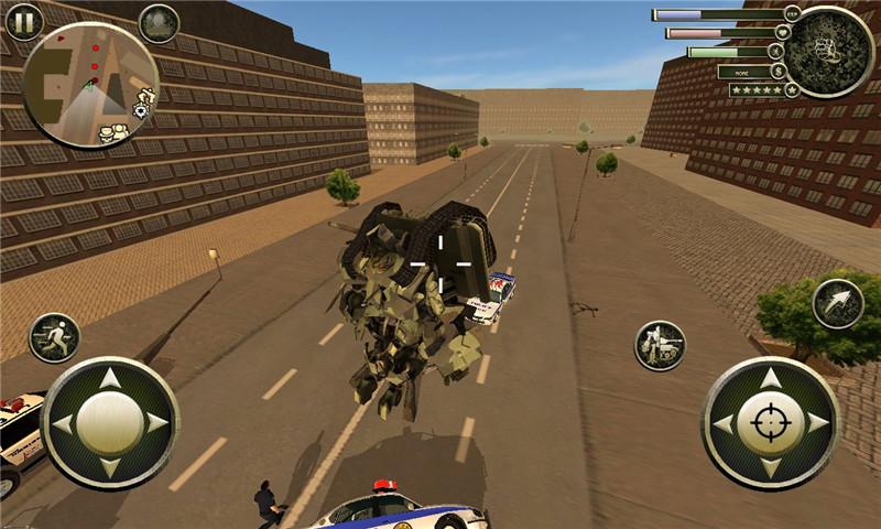 坦克机器人英雄截图
