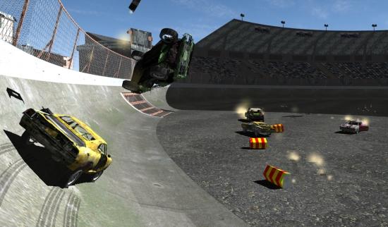汽车破坏赛 无限金币版截图