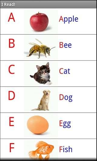 英文字母练习截图