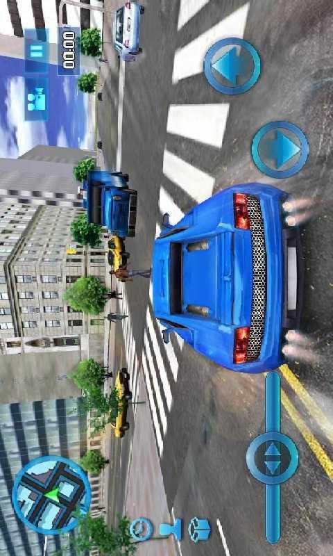 模拟城市驾驶