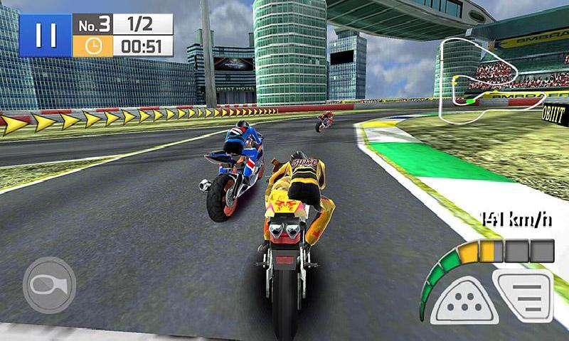 真实摩托竞赛3D截图