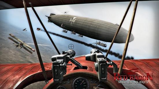 红色男爵:飞机战争截图