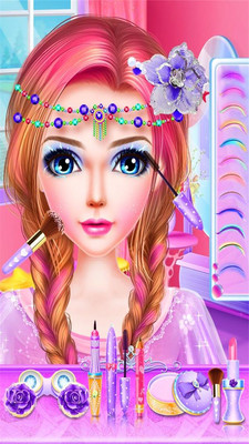 美人鱼化妆派对截图