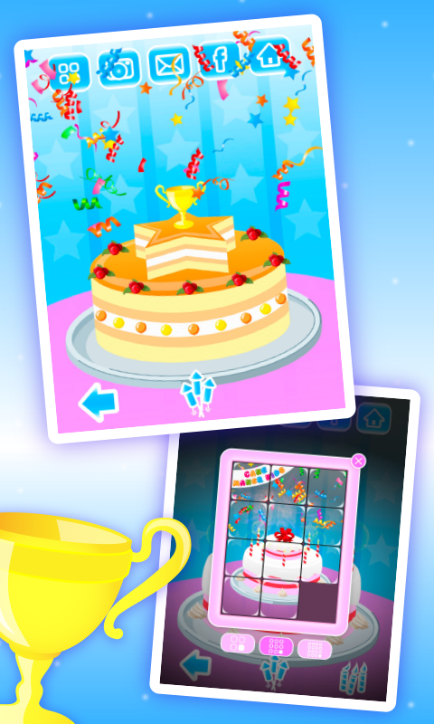 动手做蛋糕截图