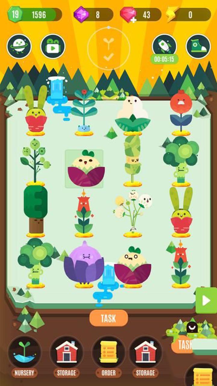 口袋植物精灵截图