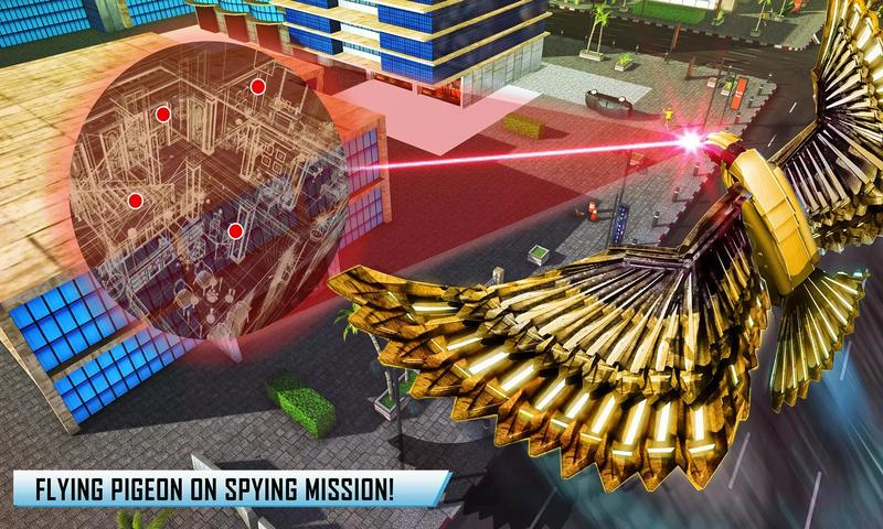 美警机器人转换游戏截图