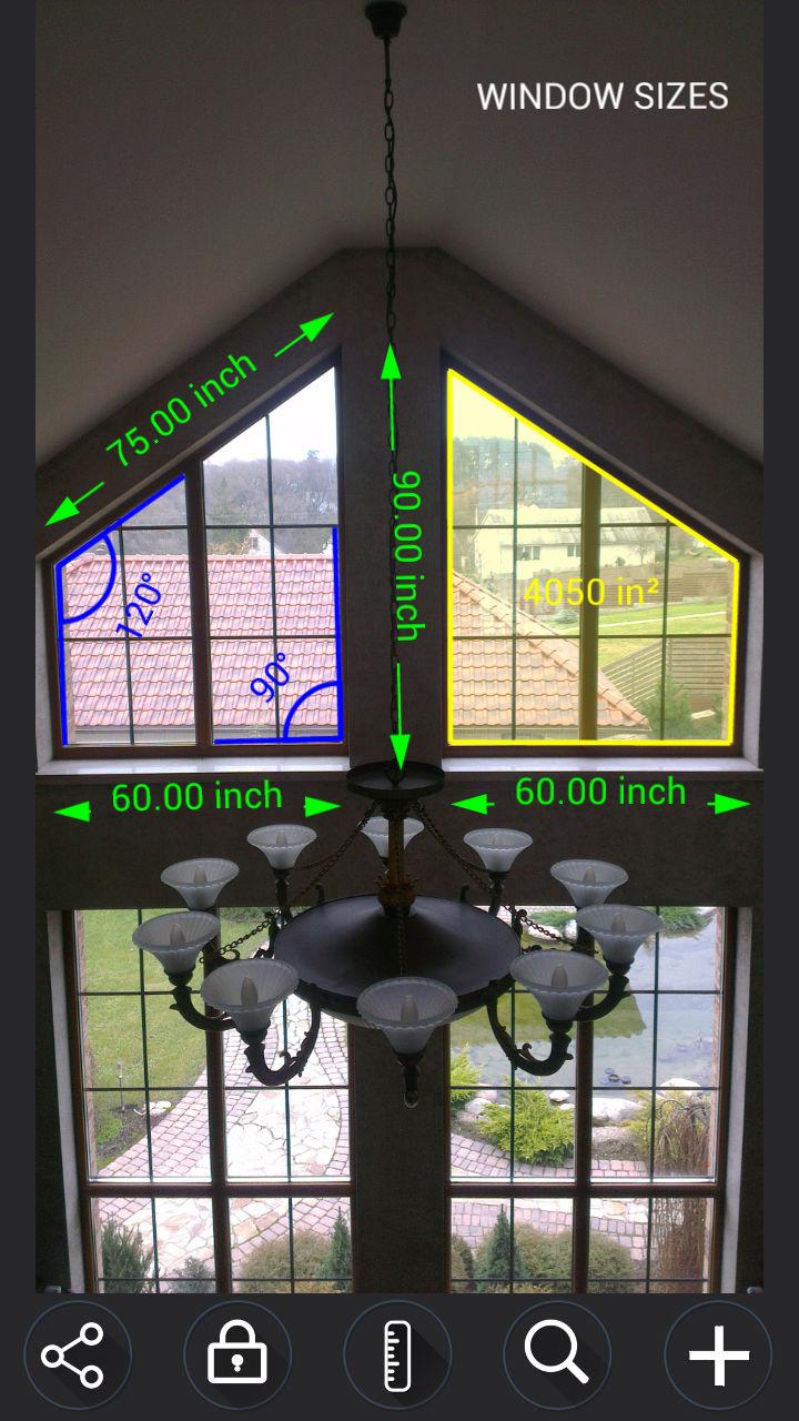 尺子测量和标记