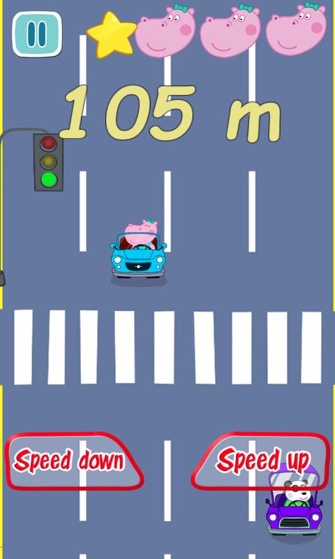 佩奇城市赛车截图