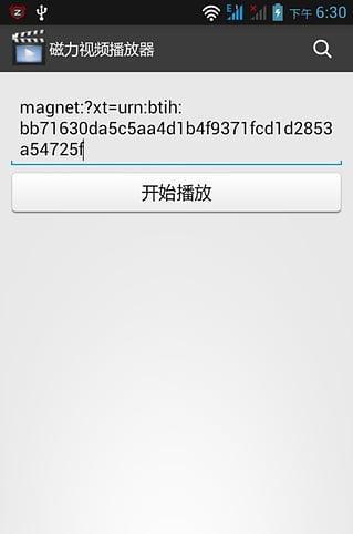 磁力视频播放器