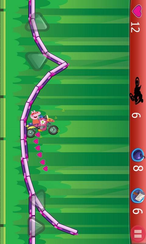 小猪佩奇开摩托截图