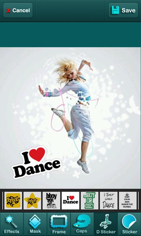 Photo Editor for Dancer