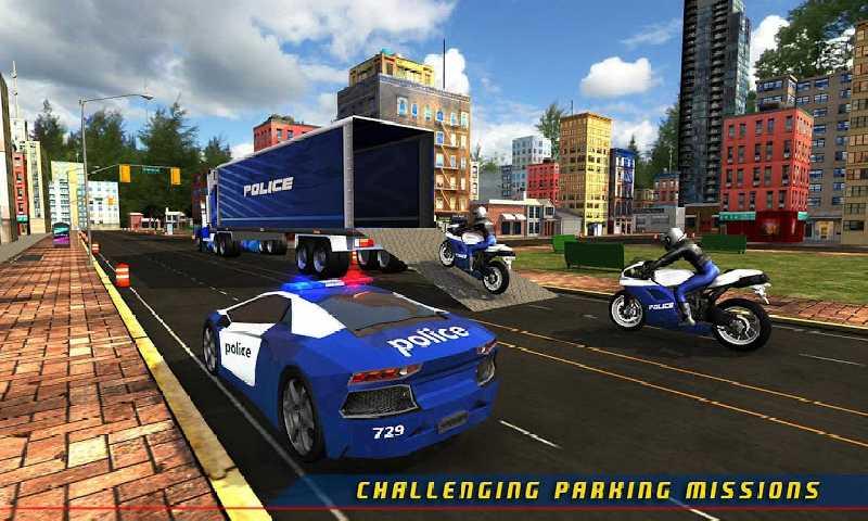 警察飞机运输车游戏截图