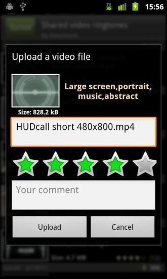 视频来电显示截图