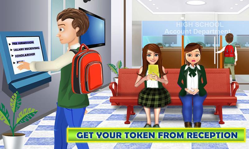高中女孩:超市收银游戏截图