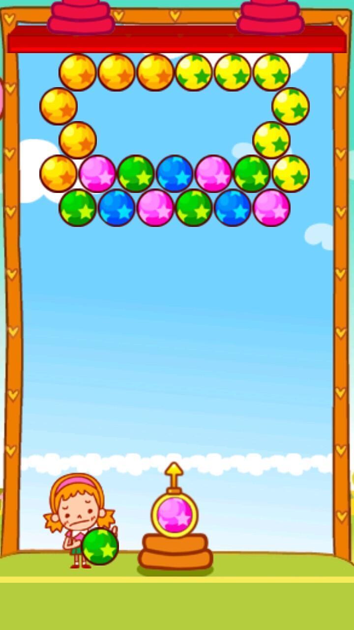这款华丽版泡泡龙是唯一一款包含解谜模式和街机模式的游戏.