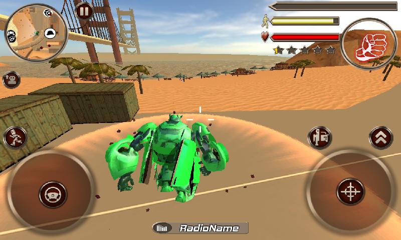 维加斯机器人战斗截图