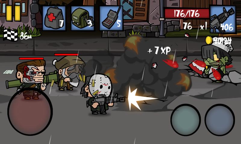 僵尸时代2:暗影死亡射击截图