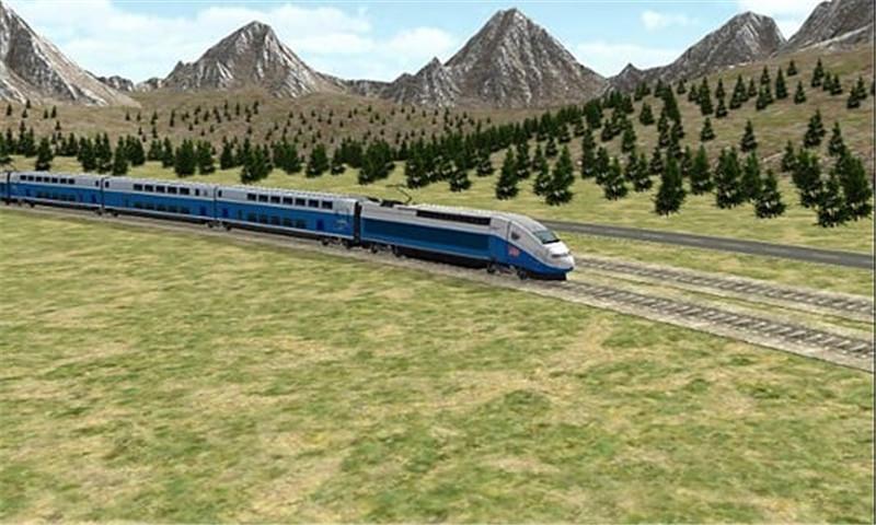 3D火车模拟