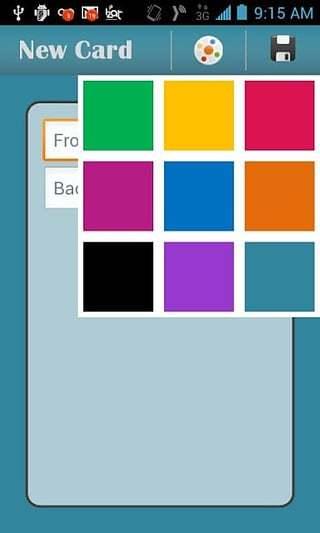 Color Flash Cards截图