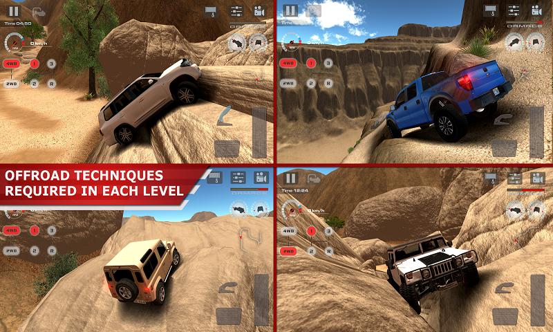越野驾驶:沙漠
