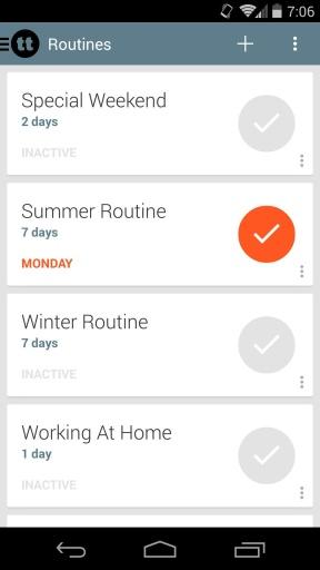 TimeTune每天行程表