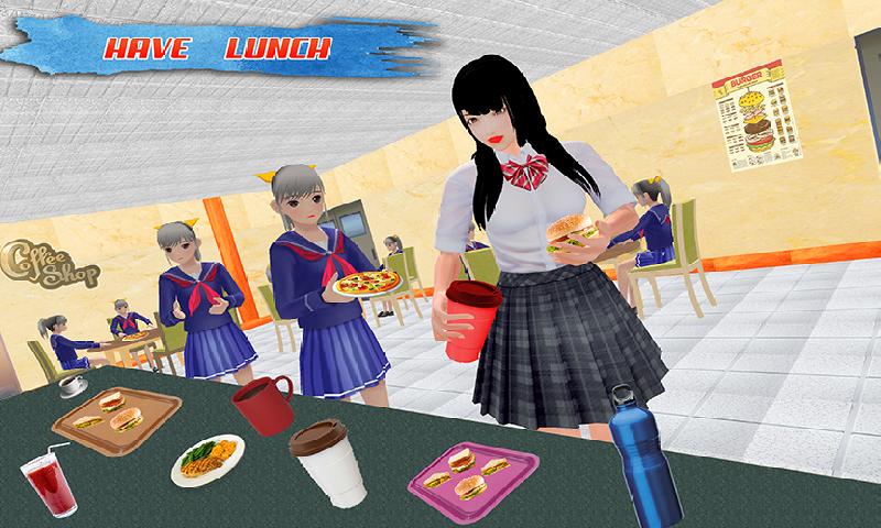 高中乐趣:虚拟女孩2018年截图