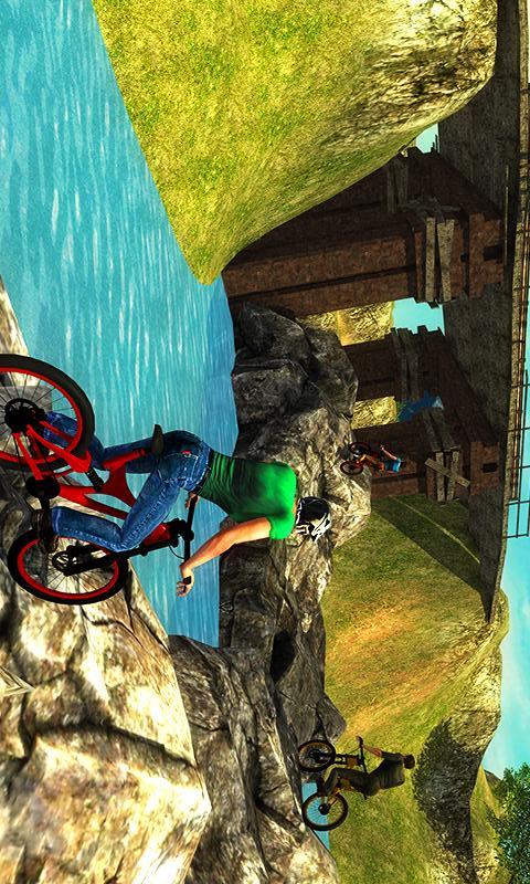 上山越野自行车车手截图