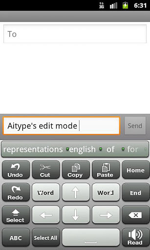 AiType键盘截图