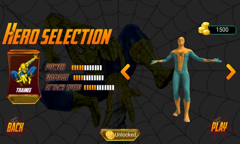 超级英雄:蜘蛛侠截图